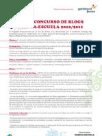 Bases Concurso Blogs Prensa Escuela 2011