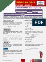 SEMANA 13 - MEDIDAS DE TENDENCIA CENTRAL (Datos No Agrupados) [3ro MATEMÁTICA]