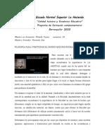 FILOSOFÍA PARA CUESTIONAR EL MUNDO QUE NOS RODEA 1