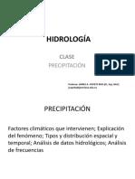 Clase 3a_ PRECIPITACIÓN_IDF_ HIDROLOGÍA .pdf