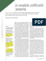Hacia un modelo unificado de la MEMORIA