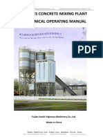D HZS ELECTRONICAL OPERATING MANUAL