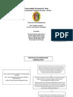protocolo de modelamiento
