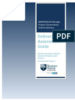 11064_OL_BSBPMG520A_Delivery and Assessment Guide V1-1