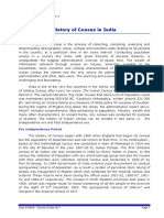 History of census in India