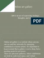 Online art gallery.pptx