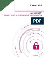 Migration Guide - Sentinel HASP to Sentinel LDK