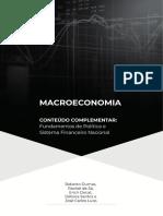 Apostila - Macroeconomia, Política e Sistema Financeiro Nacional