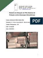 exemplo_laudo_app SPDA Relatório