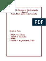 Apostila Planejamento, Programação & Controle Da Produção