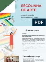 Escolinha de Arte - Teatro - Atividade 11 (5 a 12 anos)