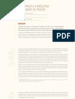 Amaral, Giambiagi, Caetano - 2012 - A FunPresp e a Indústria dos Fundos de Pensão