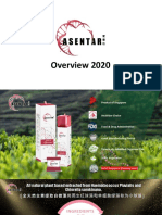 Asentar High Potent Energy Cell Food Supplement Overview