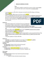 BIOLOGY MODULE 2 NOTES