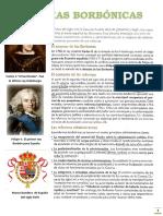 REFORMAS BORBÓNICAS-TERCERO DE SECUNDARIA