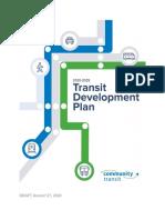 Community Transit - 2020-2025 Transit Development Plan Draft