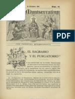 Purgatorio, Revista Montserratina. 10-1911, No. 10