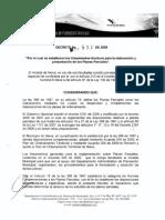 Decreto 837 de 2009