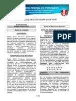 2019-06-28 - Diário Eletrônico nº 71 - 28 de Junho de 2019