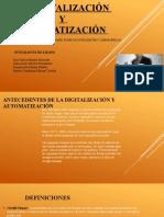 La digitalización y automatizacion
