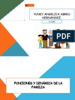 FUNCIONES Y DINÁMICA DE LA FAMILIA