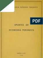 Escuela Sup. Peronista - Economía Peronista