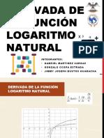 Derivada de La Función Logaritmo Natural