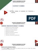 SESIÓN 02 - CREACION DE ZAPATAS Y COLUMNAS
