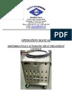 HMP2008-6 Heat Treatment Console Operation Manual