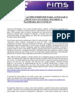 Dossiê Impacto e medidas de proteção setor Cultural - FIMS 2020.pdf