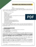 regolamento docenti  a.s.2019-20 aggiornato