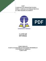 LATIFAH(857190266) - CIRI-CIRI MAKHLUK HIDUP PRAKTIKUM IPA DI SD