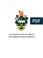 SOFI report Nelson BC 2019