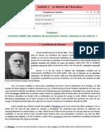 activité 1 théorie de darwin