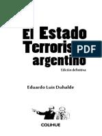 El Estado Terrorista (Duhalde) - 2019
