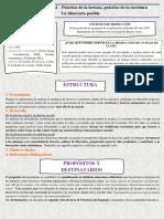Análisis doc. n4 de la lengua - actualización curricular