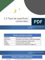 TIPOS DE SUPERFICIES COMERCIALES