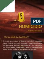 Aula homicidio