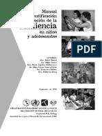 OMS - Manual Sobre Resiliencia En Niños Y Adolescentes