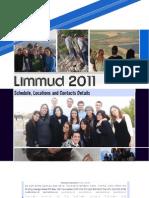 Limmud 2011 Handbook