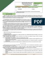 Guía 8 - Transformaciones energéticas - Décimo profundización