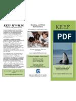 keep it wild brochure