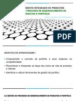 U-2 Gestão do processo de desenvolvimento de produtos e portfólio