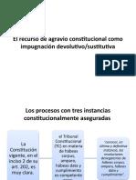 Revision 8 El recurso de agravio constitucional