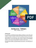 INTELIGENCIAS   MULTIPLES PEREZ JIMENEZ