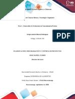 Fase 1 - Desarrollar la Evaluación de Conocimientos Previos