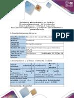 Guía de actividades y rúbrica de evaluación - Paso 2 - Reconocer los procesos y contenidos para el DPLM en la educación infantil (6)