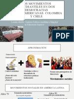 Los Movimientos Estudiantiles en Dos Democracias Latinoamericanas