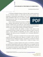 ARTIGO CONGRESSO - TERCEIRIZAÇÃO