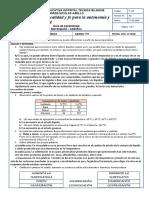 Actividad quimica periodo 3